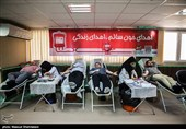 اهدای خون پرسنل خبرگزاری تسنیم به مناسبت روز خبرنگار