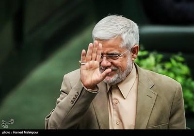 محمدرضا عارف در جلسه علنی مجلس شورای اسلامی