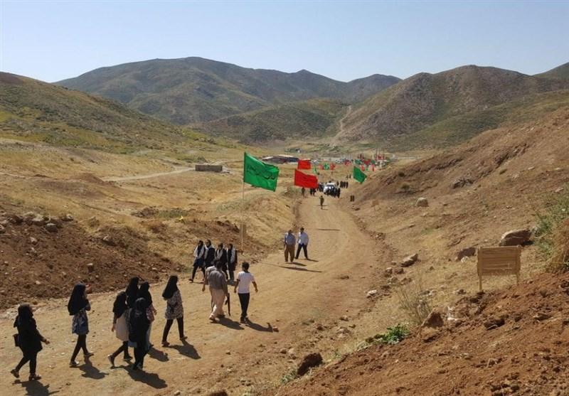افزایش حضور کاروانهای راهیان نور در مناطق عملیاتی آذربایجان غربی+فیلم