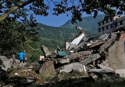 چین: صوبہ سیچوان میں زلزلہ: 12 افراد ہلاک، 100 سے زائد زخمی