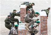 تکاوران ندسا رتبه سوم رشته تهاجم دریابرد در مسابقات نظامی 2018 را کسب کردند