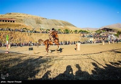 ثقافتی میلہ؛ ایران کے صوبہ کردستان میں گھڑ سواری اور نیزہ بازی کے مقابلے