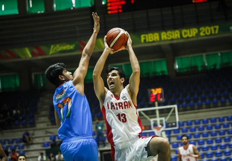 Iran Downs India in FIBA Asia Cup Opener