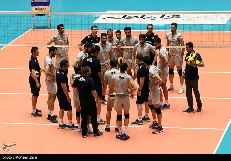 Iran to Play S. Korea at FIVB Volleyball World Championship Qualification Opener