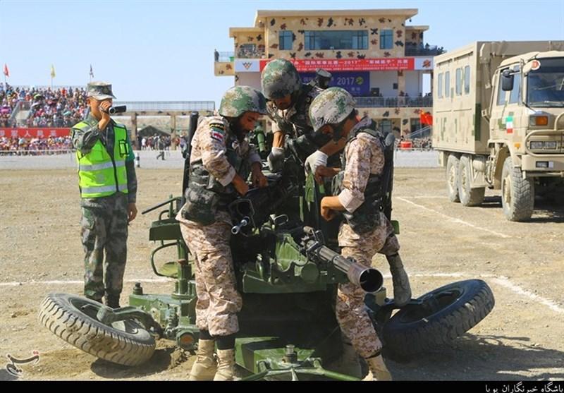تیم اربابان سلاح نیروی زمینی سپاه به مسابقات نظامی روسیه اعزام میشود