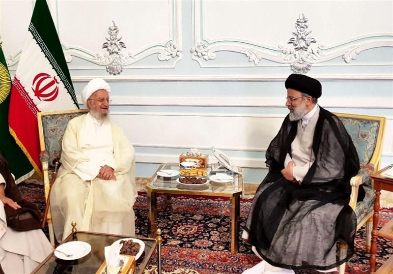 آیت الله العظمی مکارم شیرازی با تولیت آستان قدس رضوی دیدار کرد