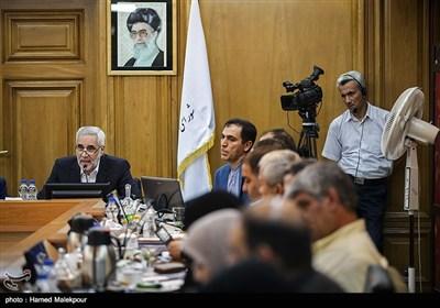سخنرانی محسن مهرعلیزاده یکی از نامزدهای شهرداری تهران در جلسه منتخبین پنجمین دوره شورای شهر تهران
