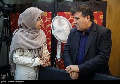محمد سالاری و الهام فخاری در جلسه منتخبین پنجمین دوره شورای شهر برای انتخاب شهردار تهران