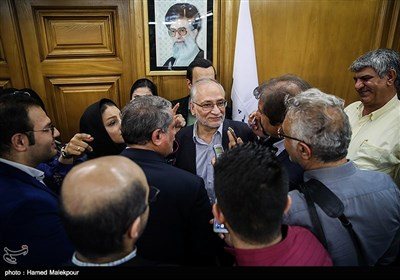 حسین مرعشی یکی از نامزدهای شهرداری تهران در جلسه منتخبین پنجمین دوره شورای شهر تهران