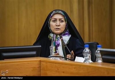 شهربانو امانی در جلسه منتخبین پنجمین دوره شورای شهر برای انتخاب شهردار تهران