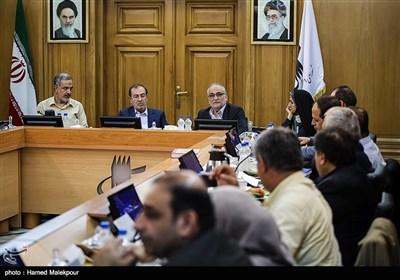 جلسه منتخبین پنجمین دوره شورای شهر برای انتخاب شهردار تهران