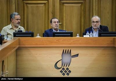 سخنرانی حسین مرعشی یکی از نامزدهای شهرداری تهران در جلسه منتخبین پنجمین دوره شورای شهر تهران