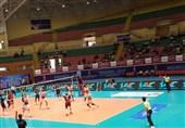 تیم ملی والیبال قطر به سختی از سد کره جنوبی گذشت