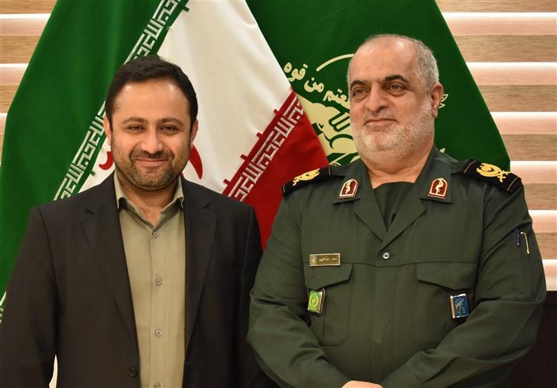 فرمانده سپاه استان گیلان از مدیر دفتر استانی تسنیم تقدیر کرد
