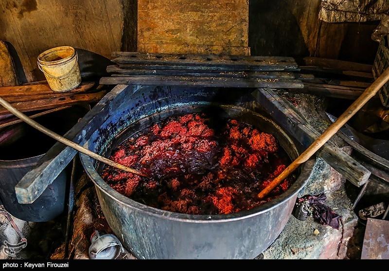 رنگرزی سنتی - سنندج