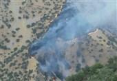 آتشسوزی کرمانشاه