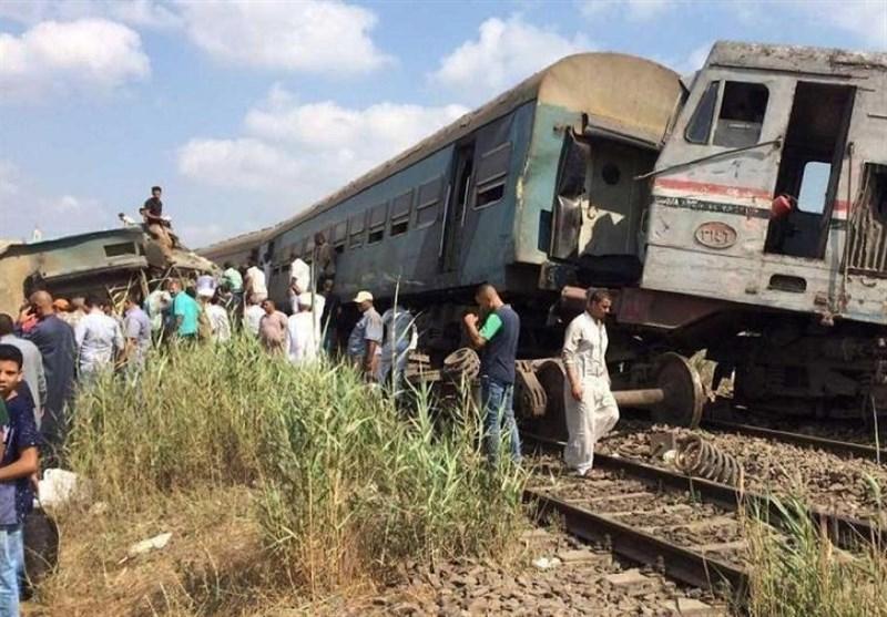 مصر میں 2 ٹرینوں کے تصادم کے نتیجے میں 37 افراد ہلاک، 123 زخمی