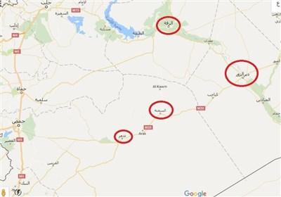 مشاهد من مدینة السخنة بریف حمص الشرقی بعد تحریرها