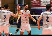 پیروزی تیم ملی والیبال ایران در دیداری تدارکاتی