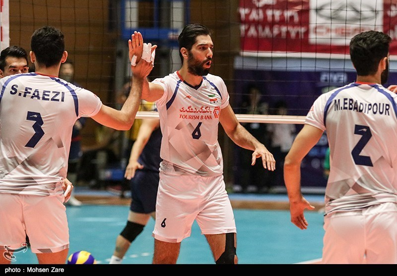 Iran Overpowers Sri Lanka at Asian Volleyball C'ship