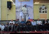 مراسم اربعین شهادت شهید مدافع حرم«محمد جلال ملک محمدی» برگزار شد+ تصویر