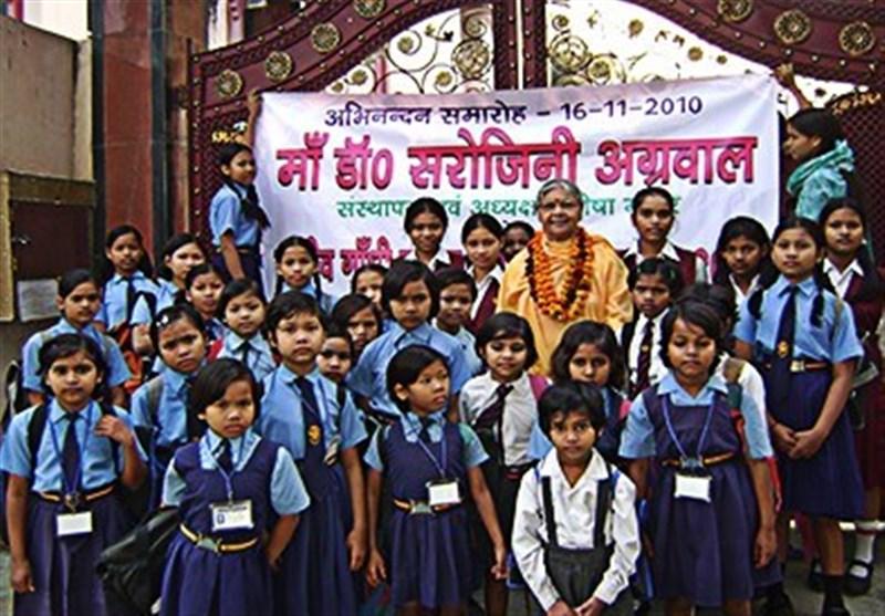 زنی با 800 فرزند در هند + تصاویر