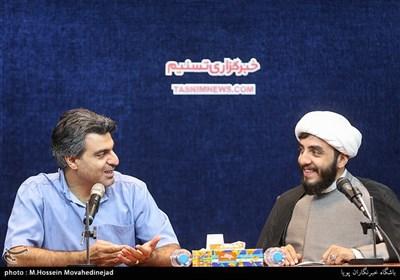حجت الاسلام فلاح فر کارگردان و محسن اسلام زاده مستندساز مقاومت