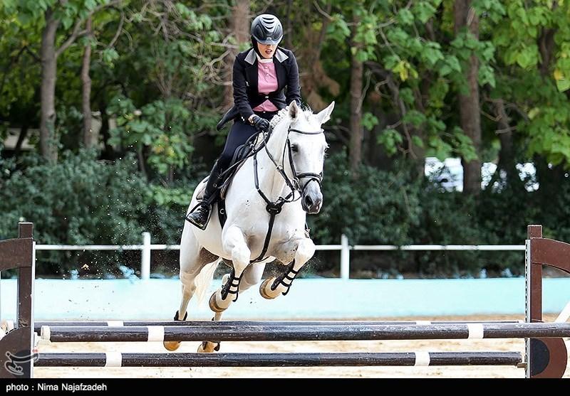 مسابقات پرش با اسب در استان قزوین برگزار شد + اسامی