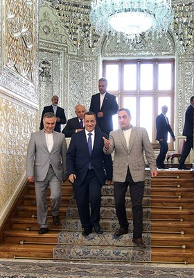 لقاء المبعوث الأممی إلى الیمن مع ظریف