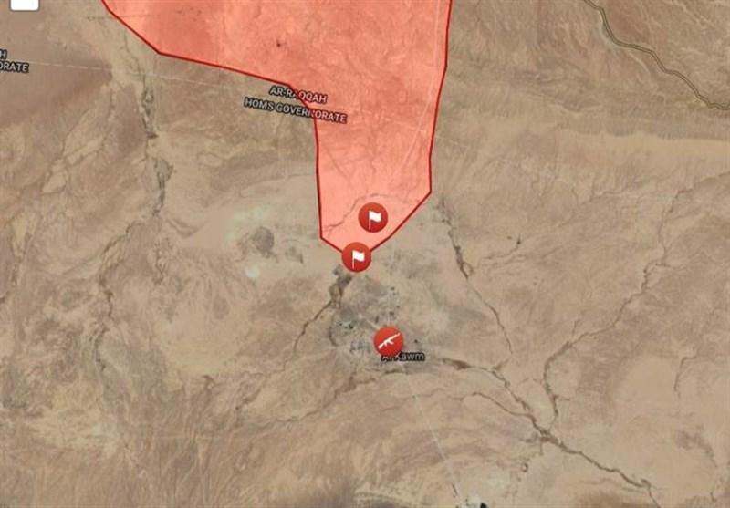 اولین هلیبرن ارتش سوریه در پشت خطوط داعش/هلاکت دهها تکفیری و آزادسازی سه منطقه+ نقشه