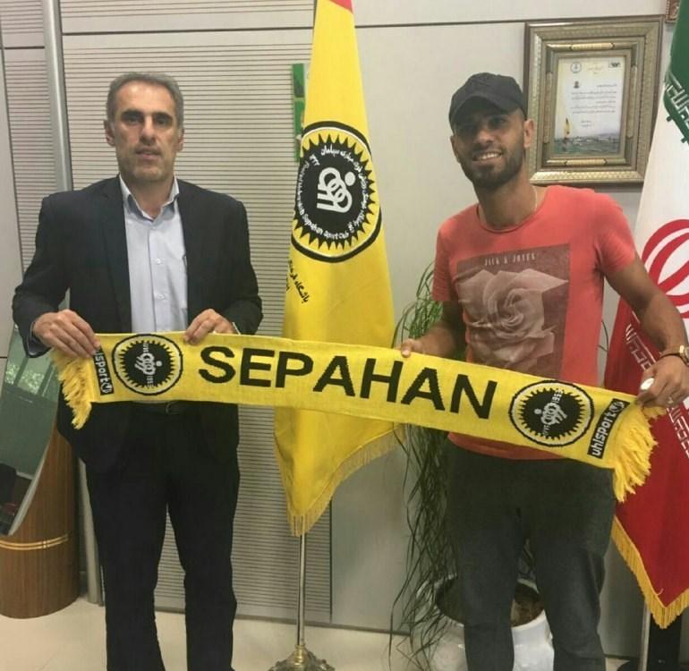 مروان حسین رسما به سپاهان پیوست + عکس
