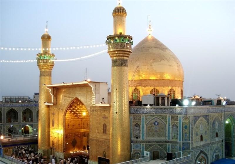 الصحن العلوی الشریف ازداد 20 ضعفا بعد مضی 1400 عاما