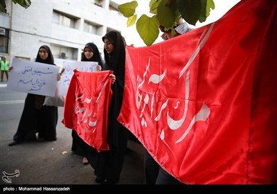 ابراز همدردی دانشجویان ایرانی با مردم افغانستان