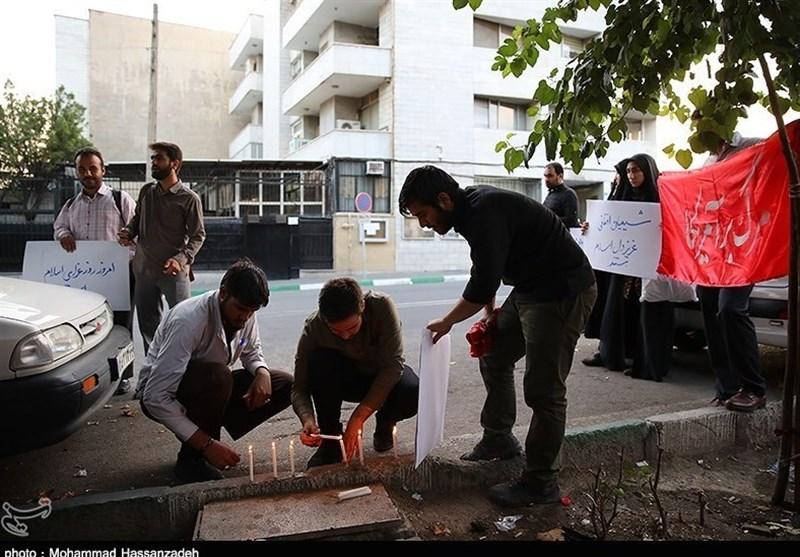 """ابراز همدردی دانشجویان با مردم """"میرزا اولنگ""""+عکس -  Tasnim"""