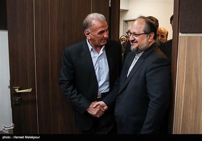 ورود محمد شریعتمداری وزیر پیشنهادی صنعت، معدن و تجارت به اتاق بازرگانی ایران
