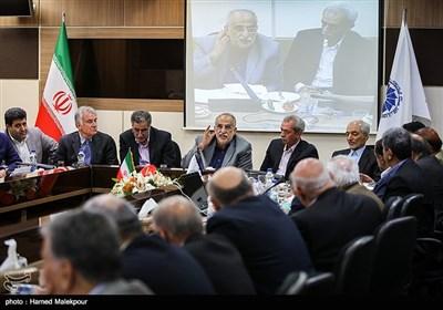 سخنرانی مسعود کرباسیان وزیر پیشنهادی اقتصاد در جمع اعضای اتاق بازرگانی ایران