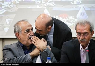 حضور مسعود کرباسیان وزیر پیشنهادی اقتصاد در جمع اعضای اتاق بازرگانی ایران