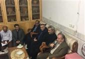 دیدار استاندار اصفهان با خانواده شهید محسن حججی