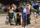 بولت با آسیبدیدگی از مدال محروم شد و خداحافظی کرد/ بریتانیا قهرمان 4 در 100 متر شد