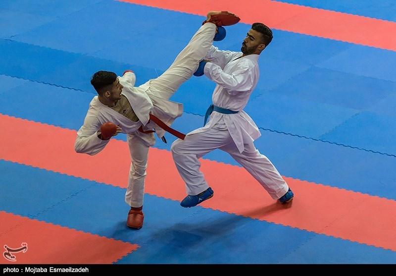 رعد پدافند خاتم الانبیا (ص) در صدر سوپر لیگ کاراته