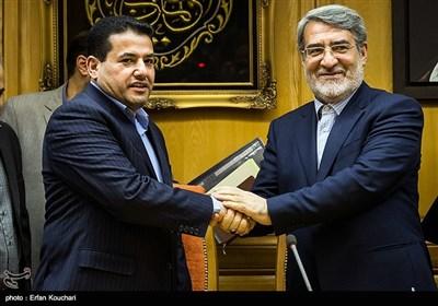 لقاء وزیری الداخلیة الایرانی والعراقی فی طهران