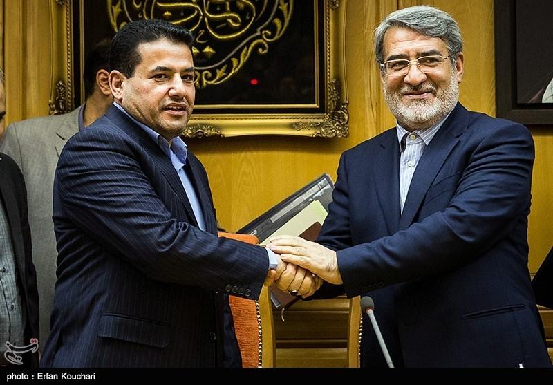 دیدار وزرای کشور ایران و عراق
