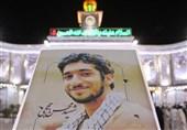 """عزاداری کاروان عتبات به یاد """"شهید حججی"""" در حرم امام حسین(ع)"""