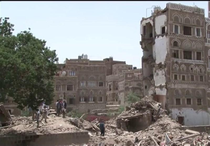 یمن میں ہوٹل پر سعودی فضائی حملے میں شہید ہونے والوں کی تعداد 60 ہوگئی