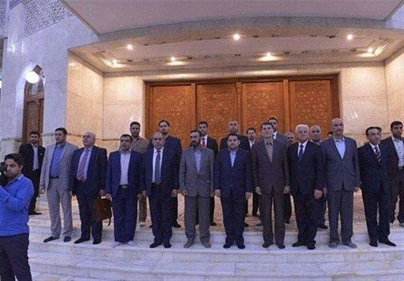 وزیر کشور عراق به مقام شامخ امامخمینی(ره) ادای احترام کرد
