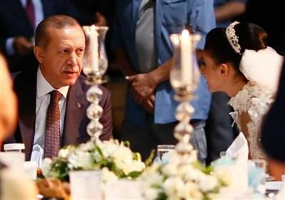 حضور اردوغان در مراسم ازدواج تکواندو کاران ایرانی و ترک