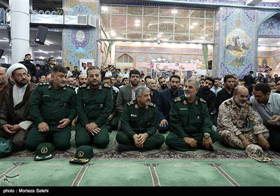 Commemoration Service Held for Martyred Iranian Military Adviser