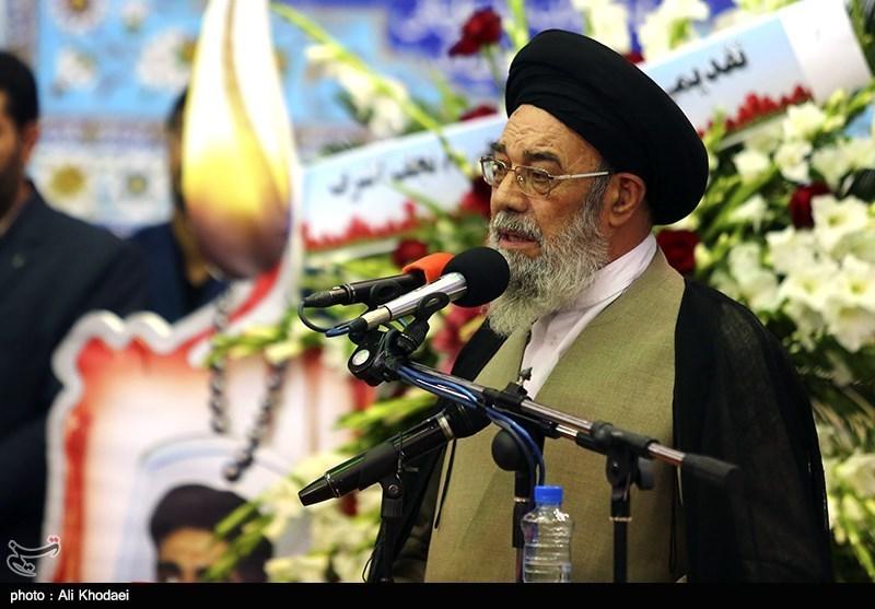 مراسم یادبود شهید مدافع حرم محسن حججی در نجف آباد اصفهان
