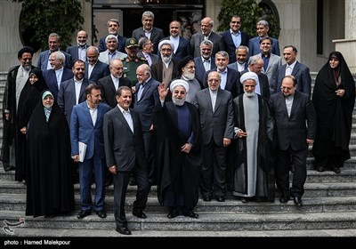 Iranian President Chairs Last Cabinet Meeting of 11th Administration