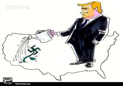 کاریکاتور/ از هیتلر تا ترامپ !!!